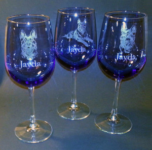Agility - Wine Glass - Jayda