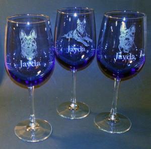 Agility - Wine Glass - Jayda