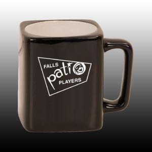 Ceramic Coffee Mug Retro Logo