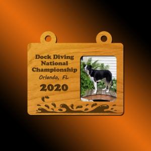 Dock Diving Ornament - Splash